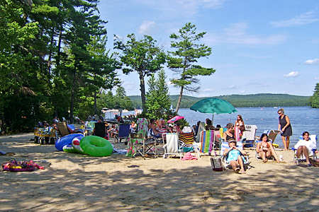 Four Seasons Family Camping Area Maine Camping In The