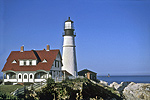 Portland Head Light - Photo Courtesy of the Convention & Visitors Bureau of Greater Portland
